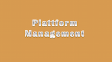 Plattform Management